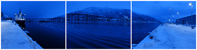 Isabel Beaver digital photograph of The Color of Light In the Artic
