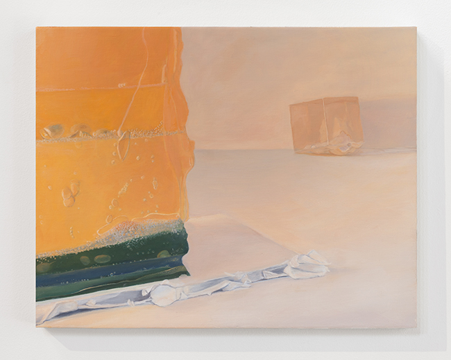 Allison Gray oil painting from her Problems and Possibilities of Seeing and Knowing collection