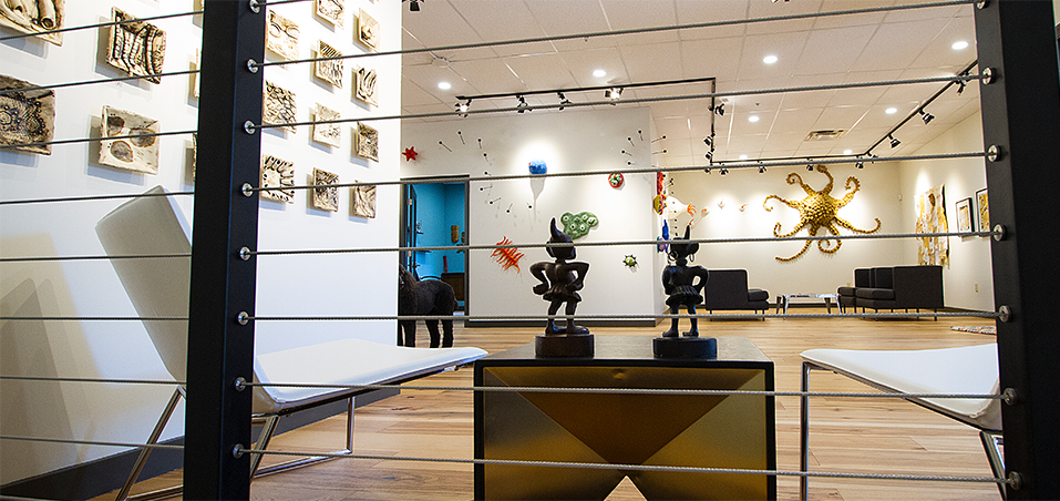 Image of Factory Mark Gallery before the grand opening